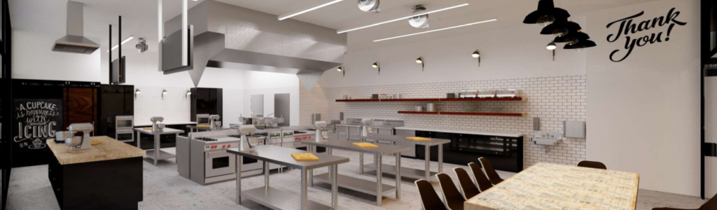 rhema foundation kitchen rendering