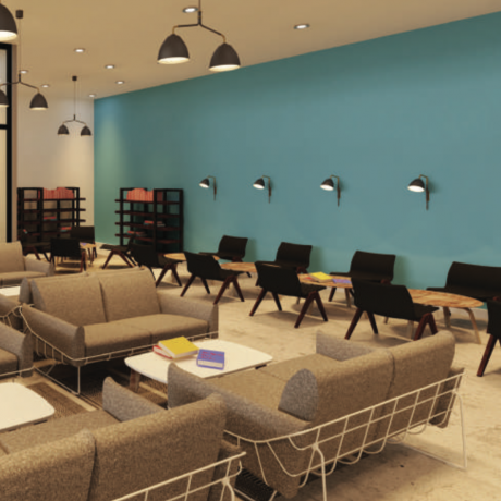 rhema foundation lounge rendering