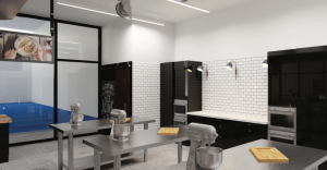 rhema foundation kitchen space rendering